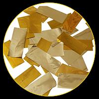 Конфеті золоті стрічки