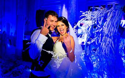 Паперове шоу на весілля, весільне паперове шоу